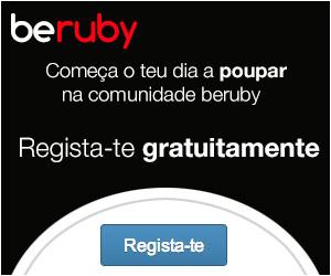beruby - devolvemos-te dinheiro pelas tuas compras e reservas online