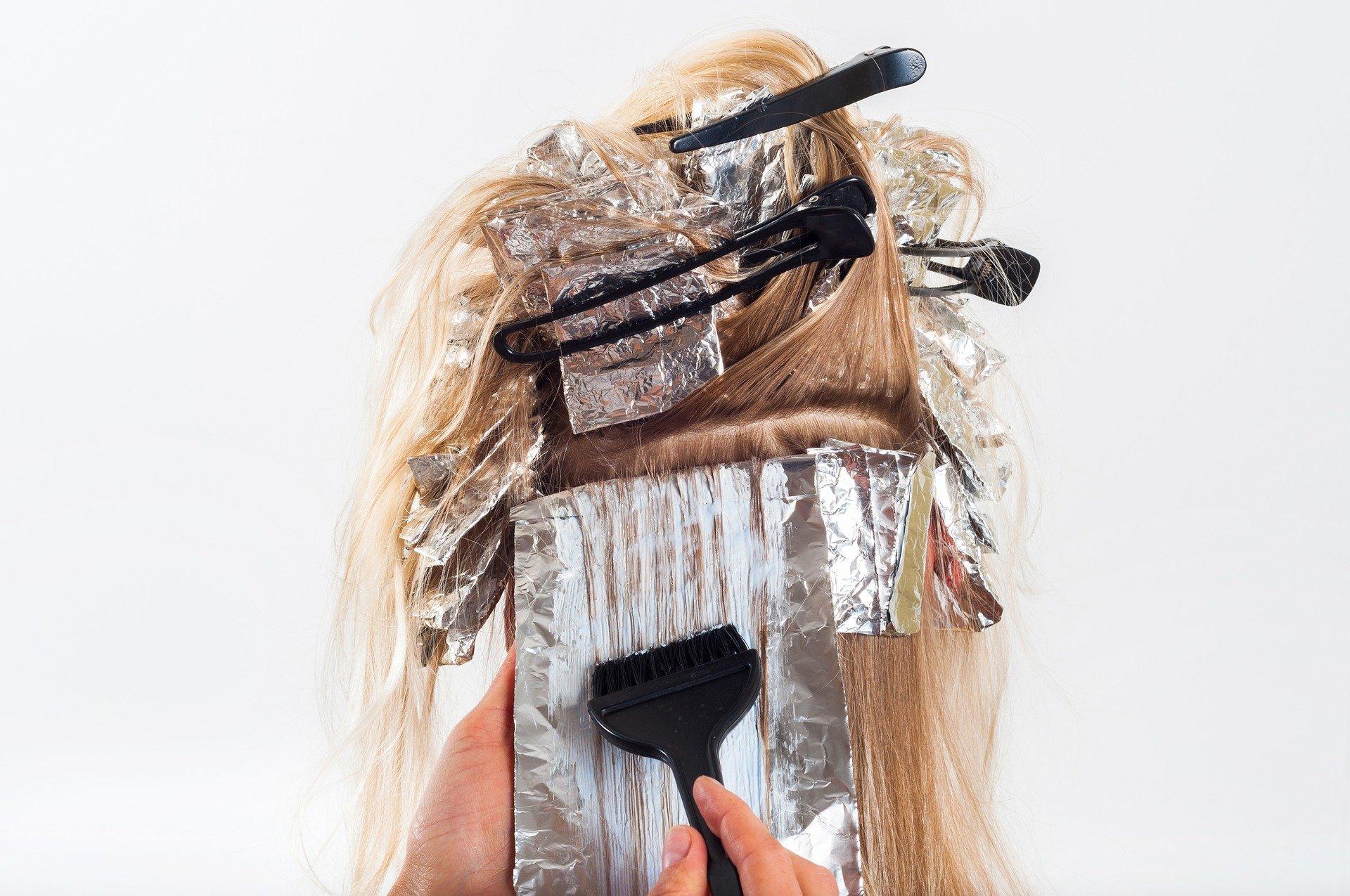 tintura para cabelo