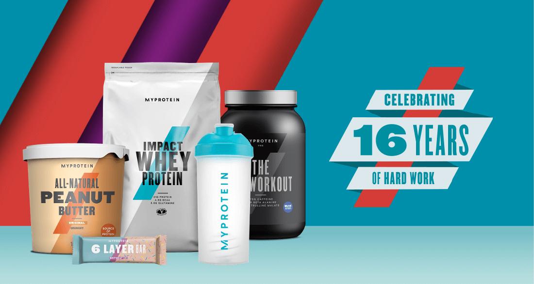 Feliz Aniversário Myprotein!!!